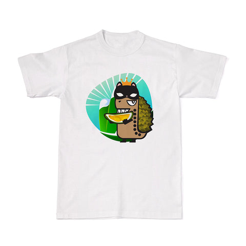 Adventure Tees - Rawr & the Mao Shan Wang Durian T-shirt