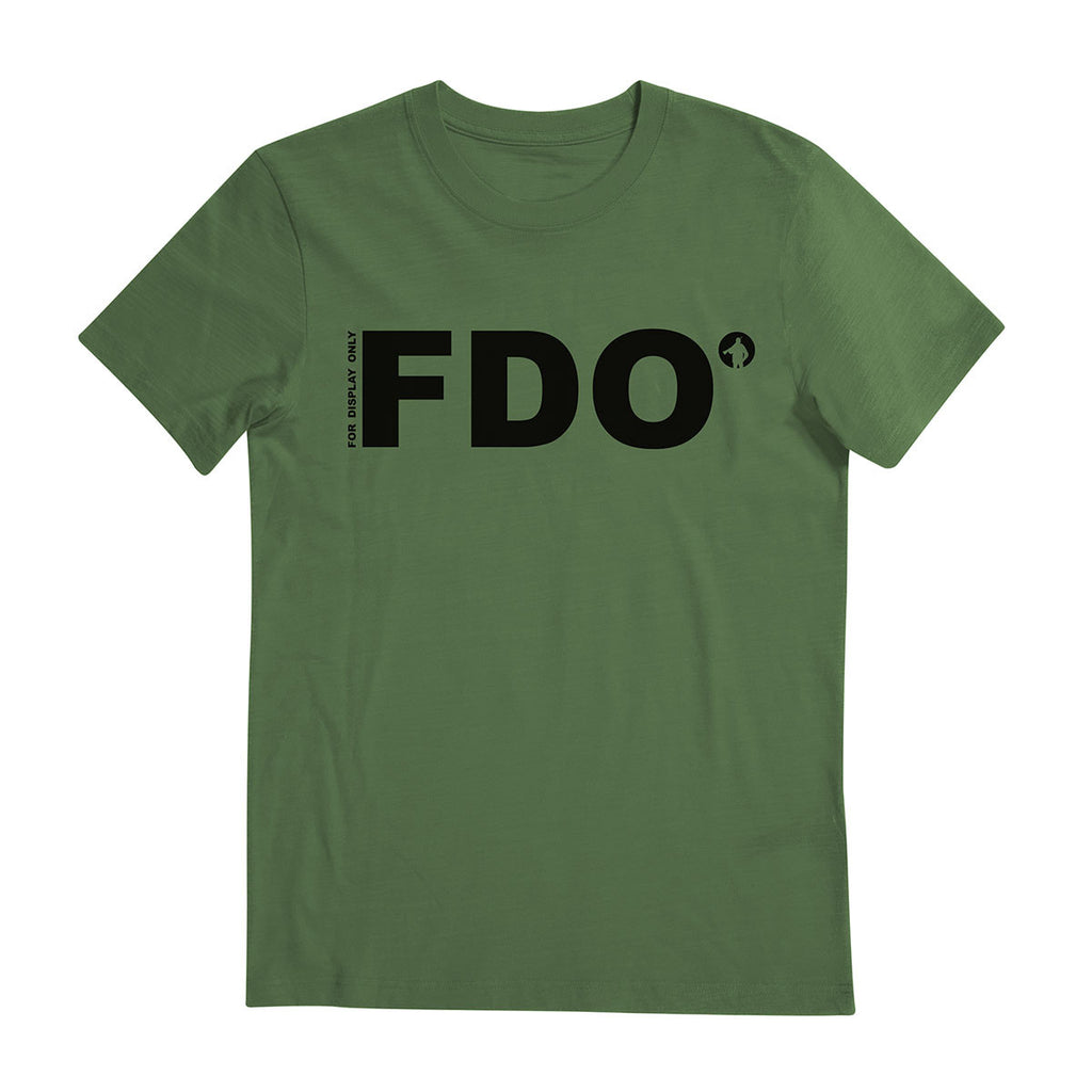 Tee-Saurus Reservist Tees FDO For Display Only Tshirt