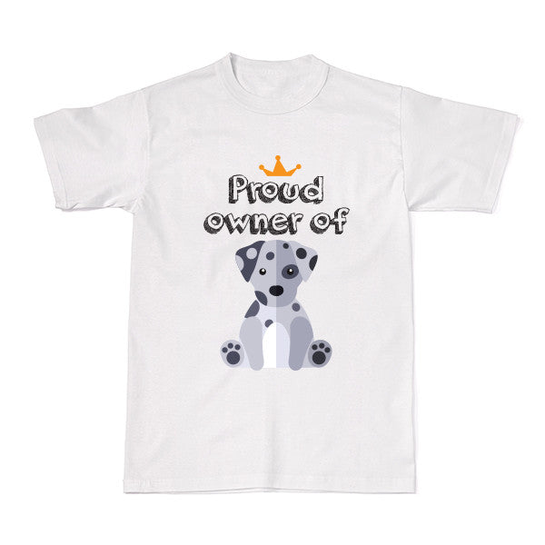 Dog - Pet Owner Designer Tees - Dalmatian T-shirt - Tee-Saurus