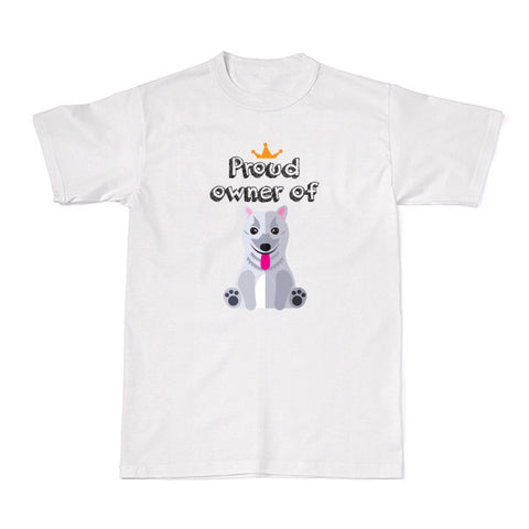 Dog - Pet Owner Designer Tees -  Japanese Spitz T-shirt