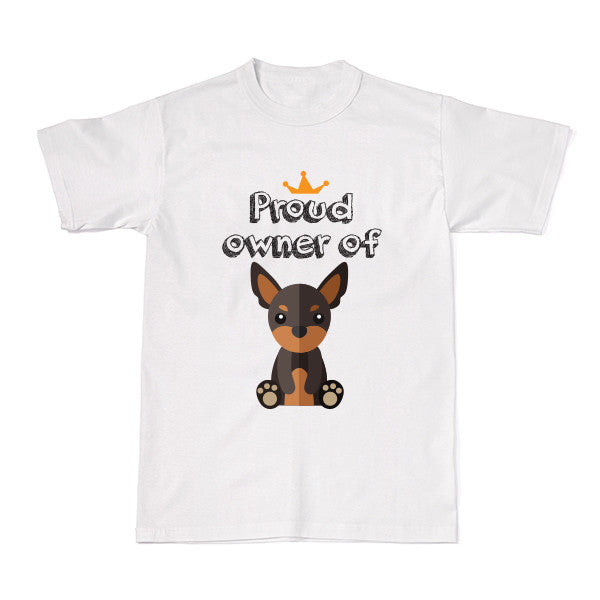 Dog - Pet Owner Designer Tees - Miniature Pinscher T-shirt - Tee-Saurus