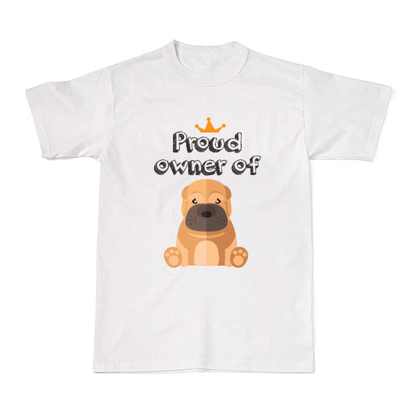 Dog - Pet Owner Designer Tees - Sharpei T-shirt - Tee-Saurus