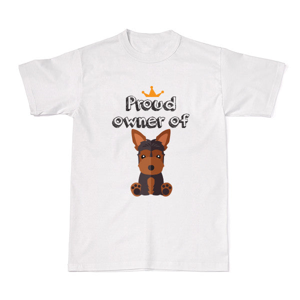 Dog - Pet Owner Designer Tees - Yorkshire Terrier T-shirt - Tee-Saurus