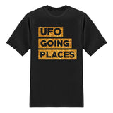 UFO Series Tees - UFO Going Places - Glitter Gold Tshirt
