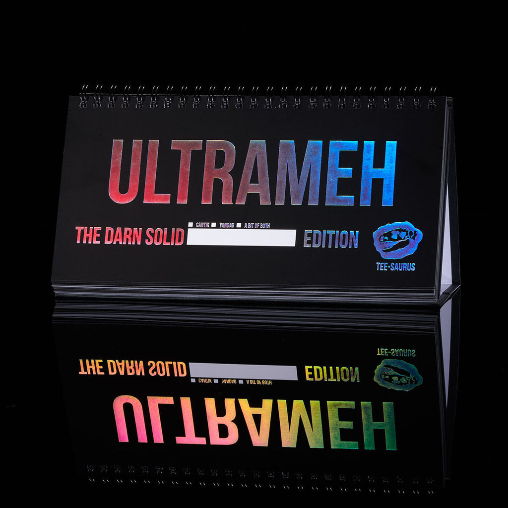 Limited Edition Ultrameh Designer Stationery - Tee-Saurus - Rainbow collection
