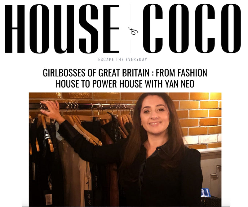 HOUSE OF COCO INTERVIEWS YAN NEO:  FROM FASHION HOUSE TO POWER HOUSE