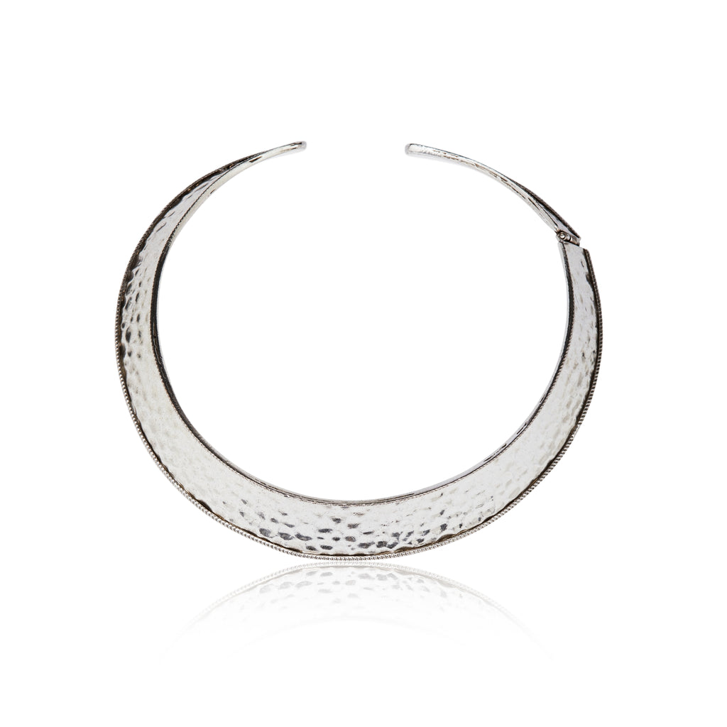 The Amara Silver Choker Necklace