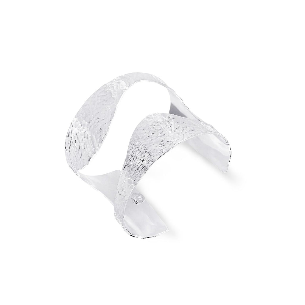 THE YAN NEO LONDON SILVER BELLONA CUFF BRACELET