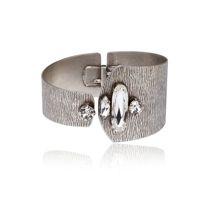 The Crystal Cuff Bracelet product photo