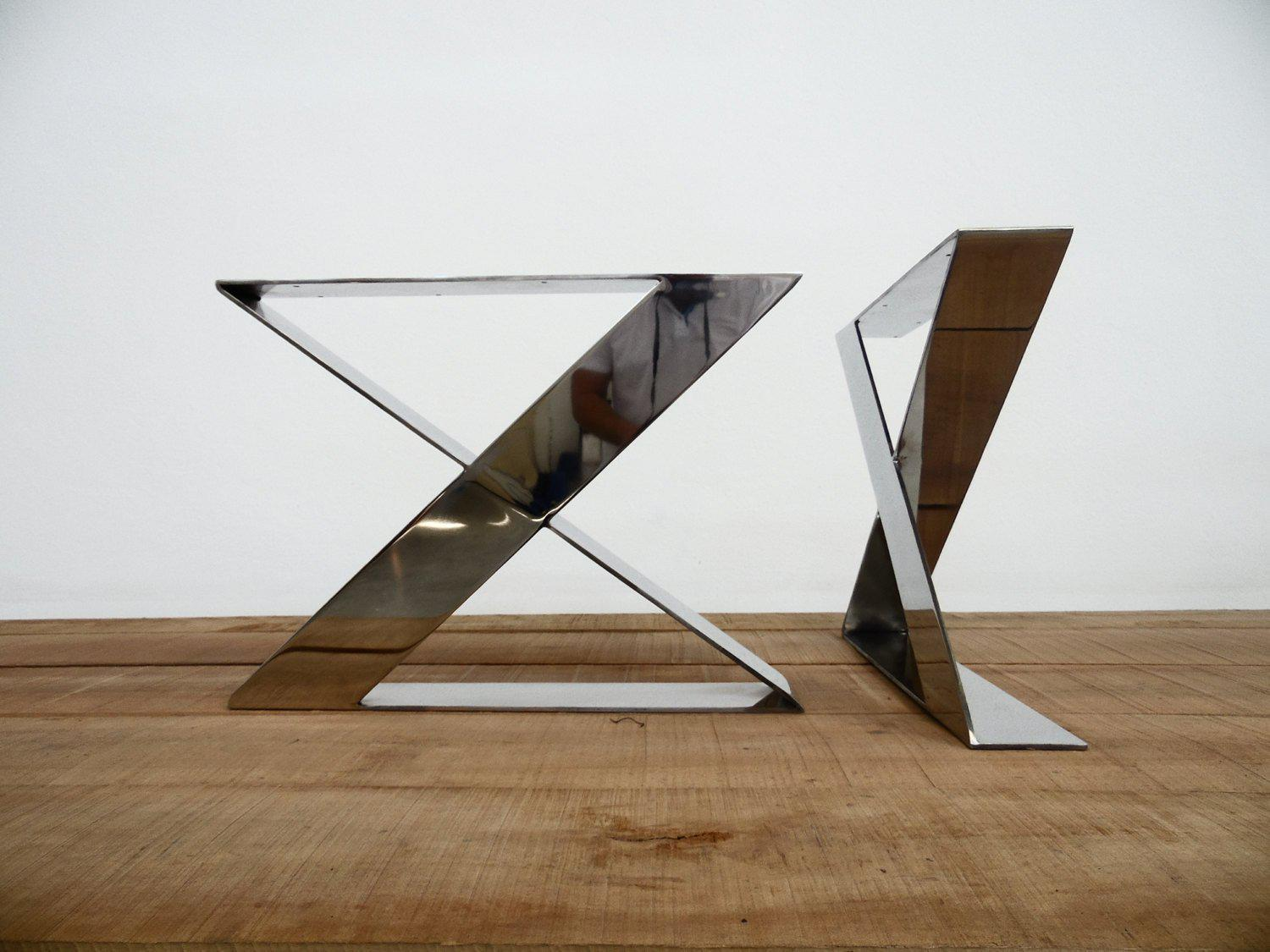 Custom Stainless Steel Coffee Table Legs- Made To Order ...