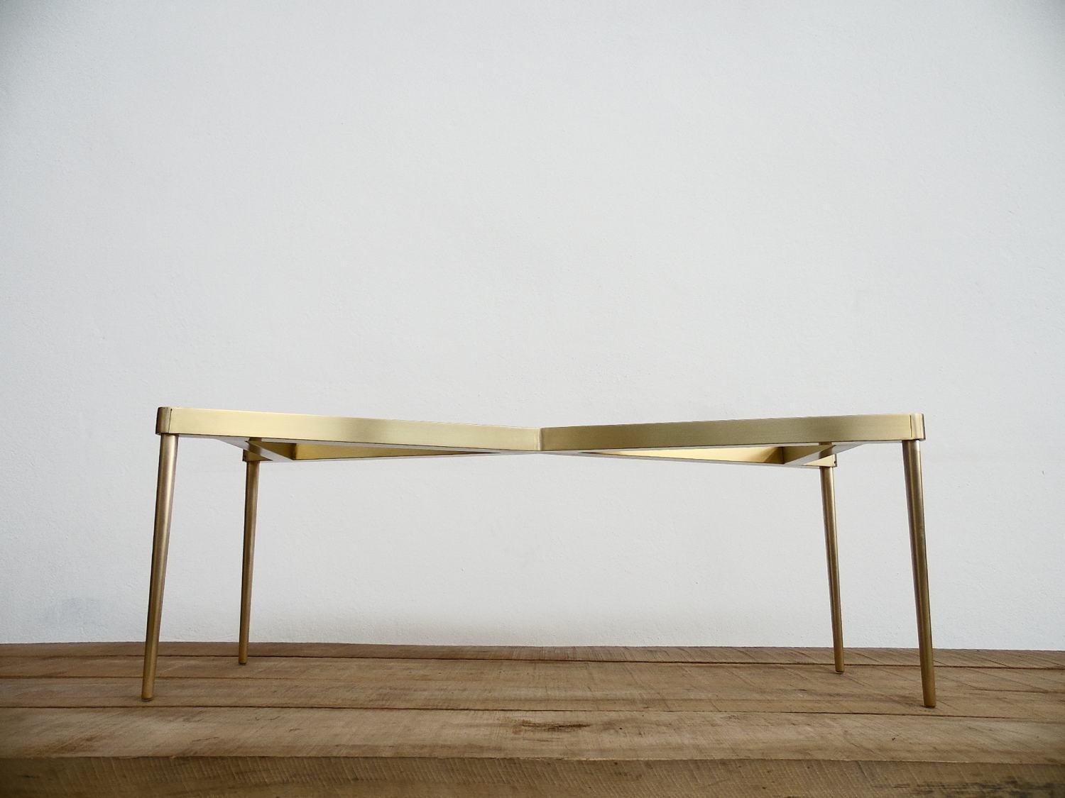 Brass Base For Marble Tops Modern Design And So Chic Balasagun