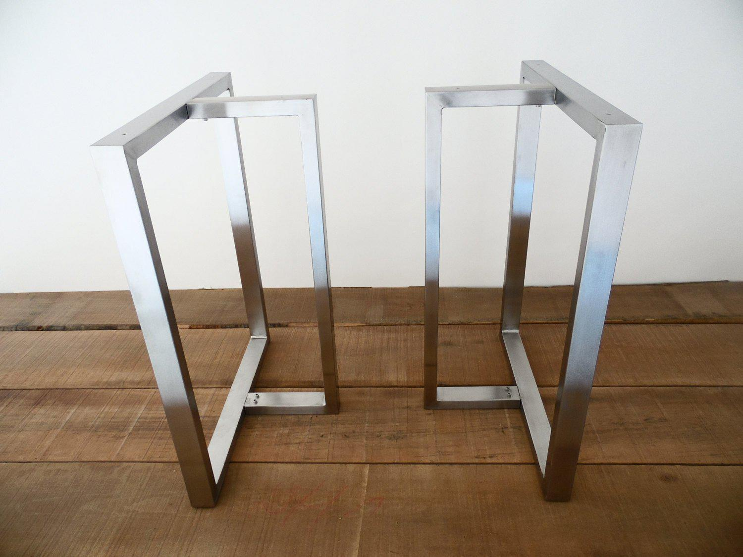 Stupendous Best Modern Metal Dining Table Legs Balasagun Made To Order Home Interior And Landscaping Ponolsignezvosmurscom