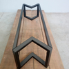 bracket iron table legs