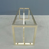 Modern Brass Dining Table Base
