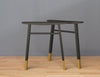 Metal Desk Legs Set ( 2)    Kitchen Table Legs  Brass Furniture Legs By Balasagun