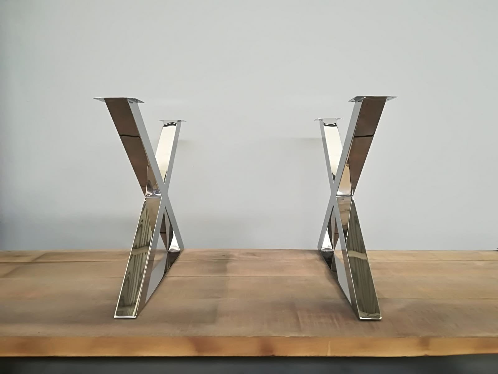 Best Dining Room Table Legs Bespoke Stainless Steel Polished Brushed
