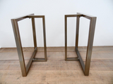 steel frame table legs
