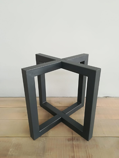 Steel Round Table Legs 28 H 35 Round Steel Table Base