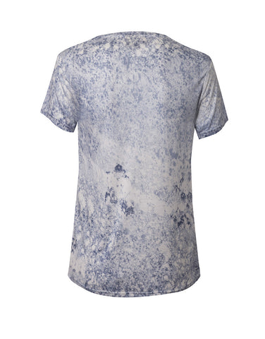 Window Tee - Blue Wash