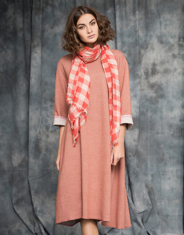 Reversible Dress - Persimmon