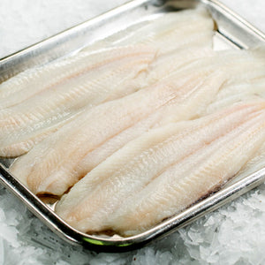 Lemon Sole Fillets (4-5 portions per 500g pack)