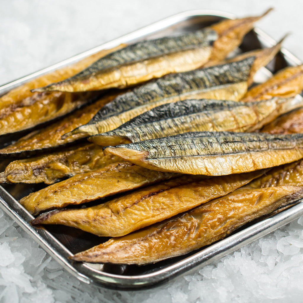 Smoked Mackerel (pack size - 5 portions - 500g)