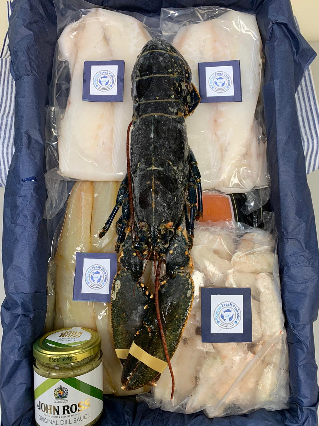 Express Scottish Fish Christmas Hampers