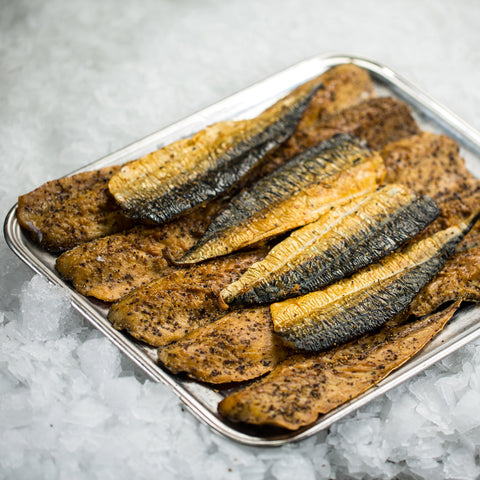 Peppered Mackerel (pack size - 5 portions - 500g)