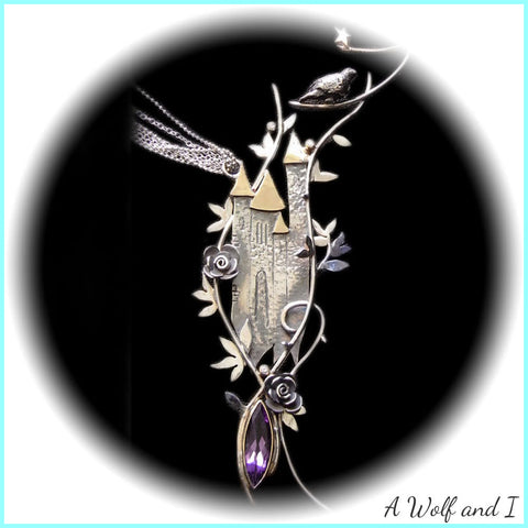Enchanted Castle Pendant Commissioned by Kensington Palace London
