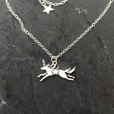 Mabel the Unicorn necklace