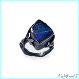 Opal locket ring 'King Arthur'