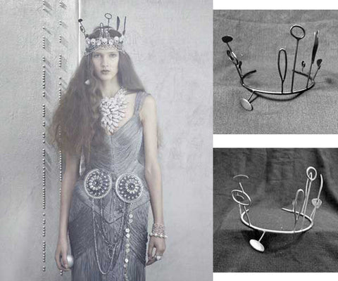 'It's all about the Crown' A Photo shoot for Vogue Gioiello Crowns No 2