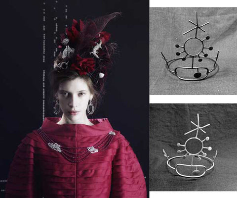 'It's all about the Crown' A Photo shoot for Vogue Gioiello. Crowns No 3
