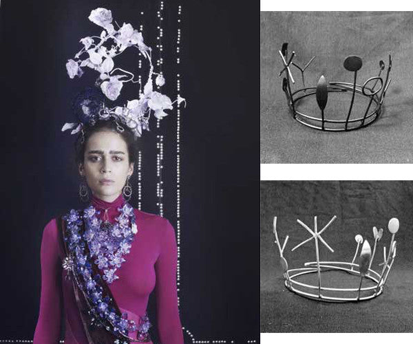 'It's all about the Crown' A Photo shoot for Vogue Gioiello. Crowns No 6