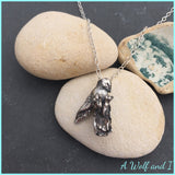 Sterling Silver 'Jose' little sleeping (dead) bird