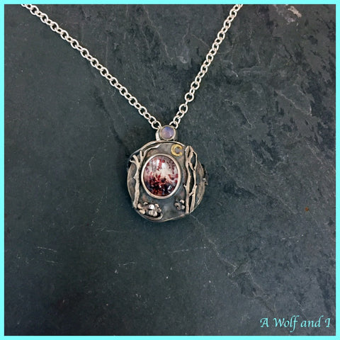 Copy of Little Red Riding Hood Locket