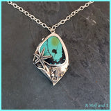 Turquoise Mermaid Locket