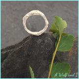 Sterling Silver Little Twig Ring