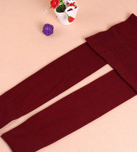 7389614bfe9 Cute Wine Colored Tights for Cool Weather