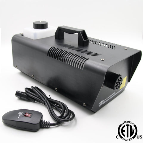 Forum 1000W Fog Machine - Metal Case Up To 4000 Cubic Feet Of Per Minute