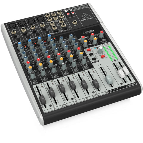 Behringer Xenyx 1204Usb 12-Input 2/2 Bus Mixer With Usb/audio Interface Audio
