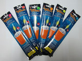 6 pack of Glow Motion Straws - available in 6 colours - expert island