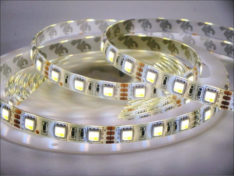 LED Strip/Tape Light  5730 SMD IP33 Rated, 300 LED's, 5 Meters - Dual Colour White/Warm White - expert island