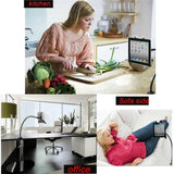 Adjustable Gooseneck Arm Table Mount Ipad Tablet Holder Stands & Mounts
