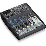 Behringer Xenyx 802 8-Input 2-Bus Mixer With Mic Preamps And British Eqs Audio