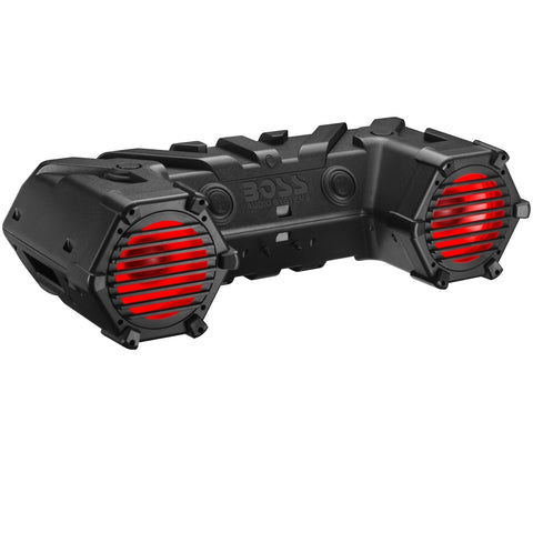 "BOSS AUDIO ATV95LRGB 700 Watts 8"" Bluetooth Amplified All-Terrain Sound System"