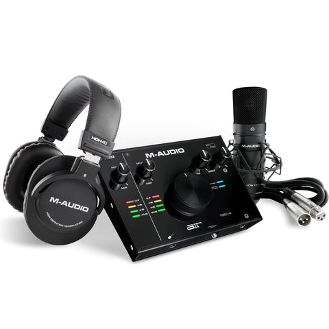 M-AUDIO AIR 192|4 Vocal Studio Pro - All-in-one Solution for Computer Recording