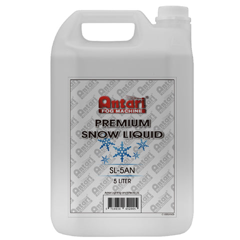 Antari SL-5A Premium Snow Fluid Liquid, Quick-dissipating