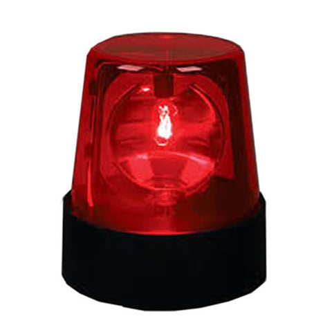 Rotating Beacon Light DJ Party Light - RED