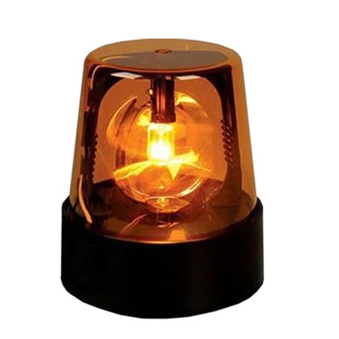 Rotating Beacon Light DJ Party Light - YELLOW